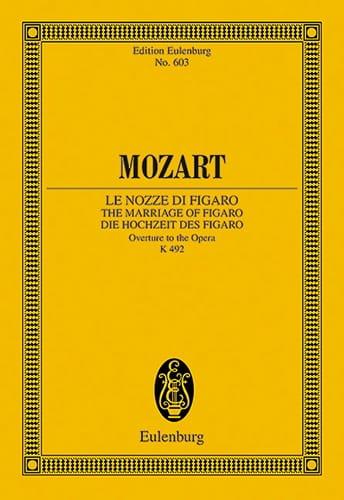 MOZART - Die Hochzeit des Figaro, Opening KV 492 - Partition - di-arezzo.co.uk