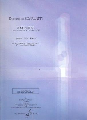 3 Sonates K 33 - K 380 - K 513 - Flûte piano - laflutedepan.com
