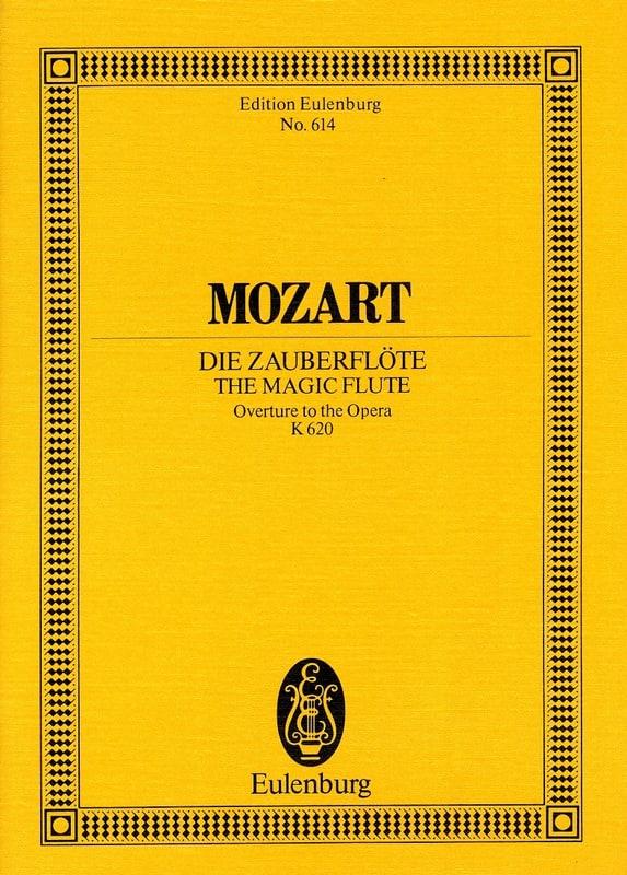 Die Zauberflöte, Ouverture Kv 620 - Partitur - laflutedepan.com