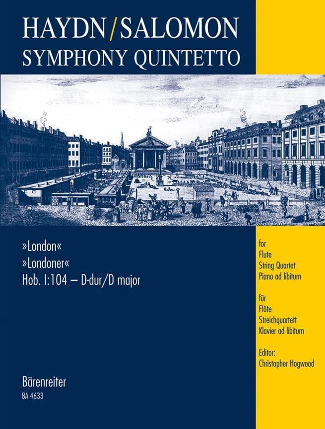 Symphony Quintetto London Hob. 1 : 104 -Partitur + Stimmen - laflutedepan.com