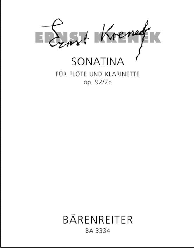 Sonatina op. 92/2b - Flöte und Klarinette - laflutedepan.com