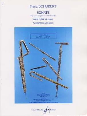 SCHUBERT - Sonata Arpeggione - Partition - di-arezzo.co.uk