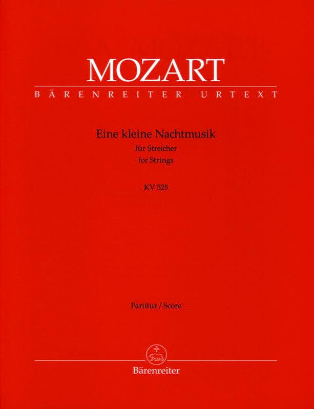 MOZART - Eine kleine Nachtmusik G-Dur KV 525 - Partitur - Partition - di-arezzo.co.uk