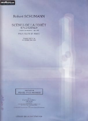 SCHUMANN - Scenes of the Forest - Flute and Piano - Partition - di-arezzo.com