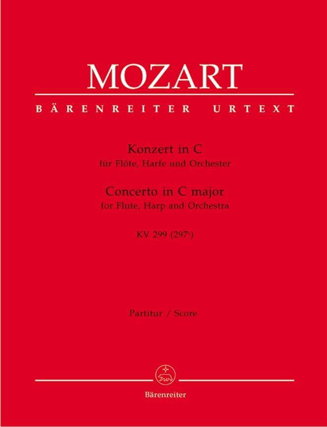 Konzert für Flöte, Harfe C-Dur KV 299 - Partitur - laflutedepan.com