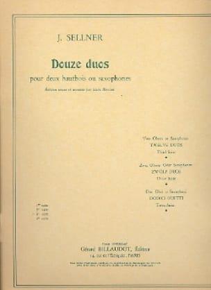 12 Duos -3ème Suite - Joseph Sellner - Partition - laflutedepan.com