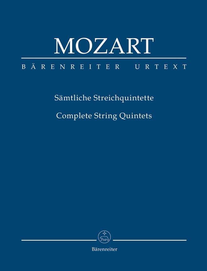 Intégrale des quintettes à cordes Urtext der Neuen Mozart-Ausgabe - laflutedepan.com