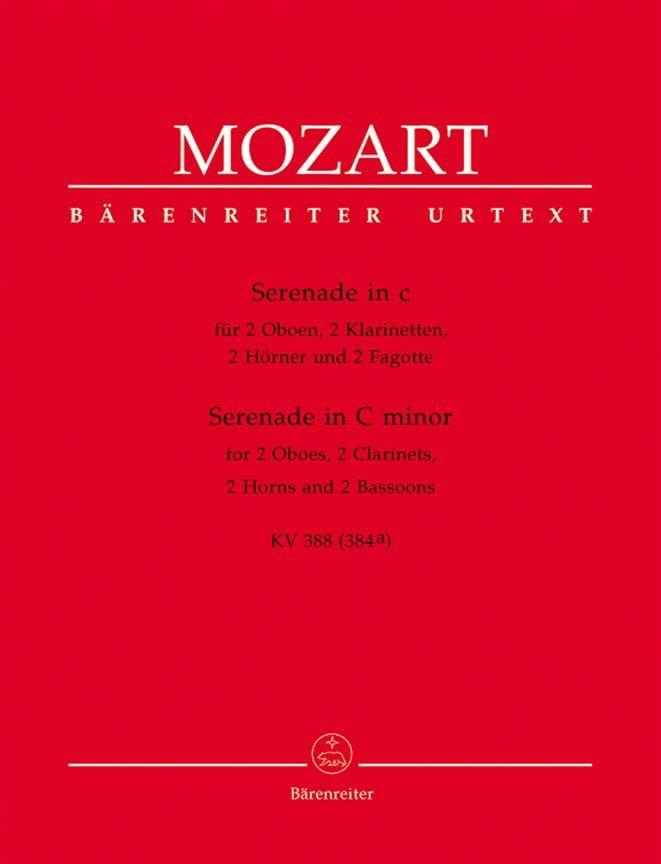 MOZART - Serenade c-moll KV 388 - Bläseroktett - Stimmen - Partition - di-arezzo.co.uk