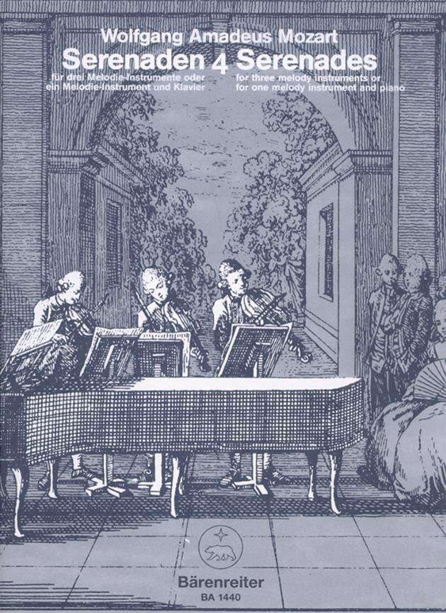 Serenades, Volume 4 - MOZART - Partition - laflutedepan.com