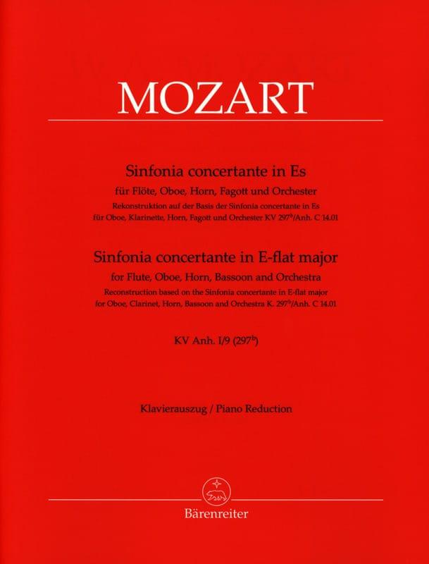Sinfonia concertante in Es-Dur- Flöte, Oboe, Horn, Fagott Klavier - laflutedepan.com