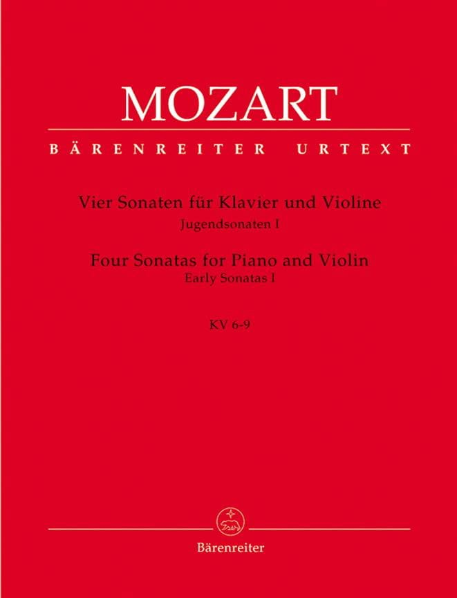 4 Sonaten, Jugendsonaten 1 - MOZART - Partition - laflutedepan.com