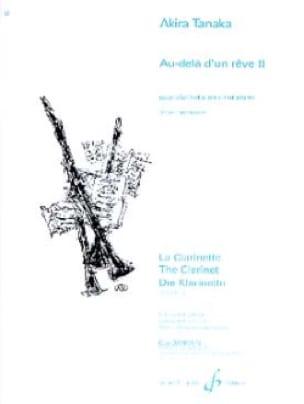 Au-delà d'un rêve 2 - Akira Tanaka - Partition - laflutedepan.com