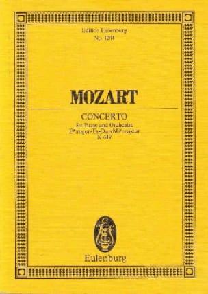 Klavier-Konzert Es-Dur - Kv 449 - MOZART - laflutedepan.com