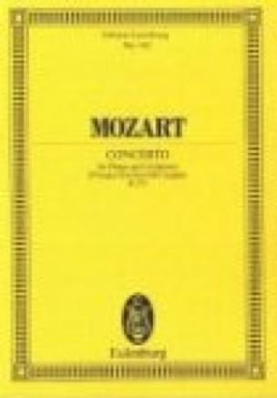 Klavier-Konzert Es-Dur - Kv 271 - MOZART - laflutedepan.com