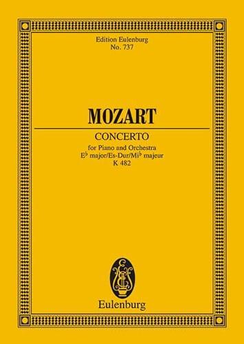 Klavier-Konzert Es-Dur - Kv 482 - MOZART - laflutedepan.com