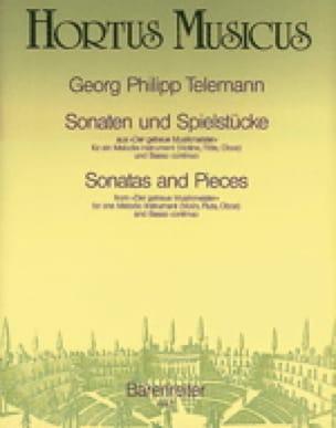 TELEMANN - Sonaten und Spielstücke - Partition - di-arezzo.fr