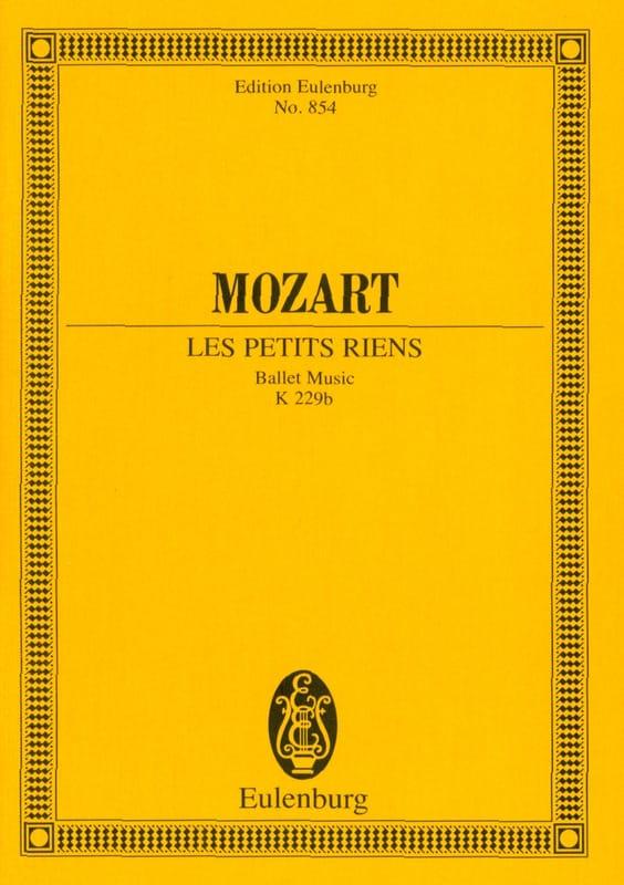 Les Petits Riens, Ballet - Conducteur - MOZART - laflutedepan.com