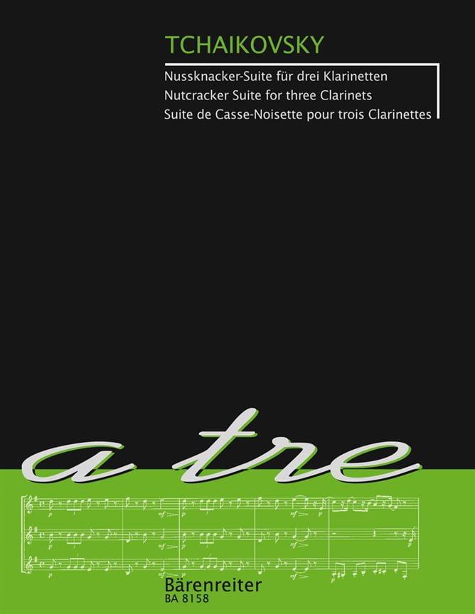Der Nussknacker-Suite - 3 clarinettes - TCHAIKOVSKY - laflutedepan.com