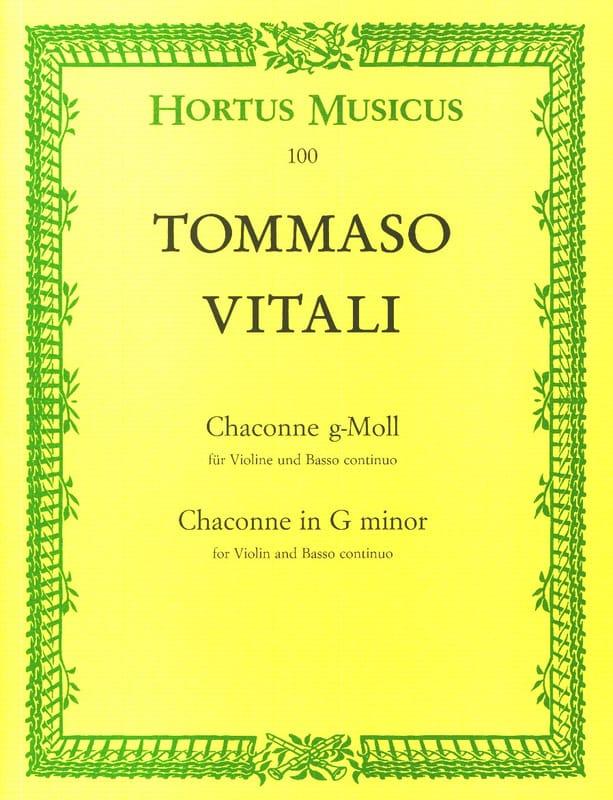 Tommaso Antonio Vitali - Each minor soil - Partition - di-arezzo.co.uk
