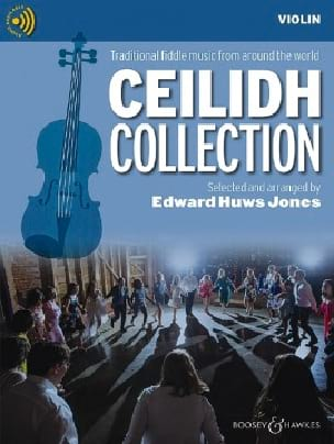 Jones Edward Huws - The Ceilidh Collection - CD Violin - Partition - di-arezzo.com