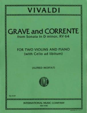 Grave and Corrente Sonata D minor RV 64 - VIVALDI - laflutedepan.com