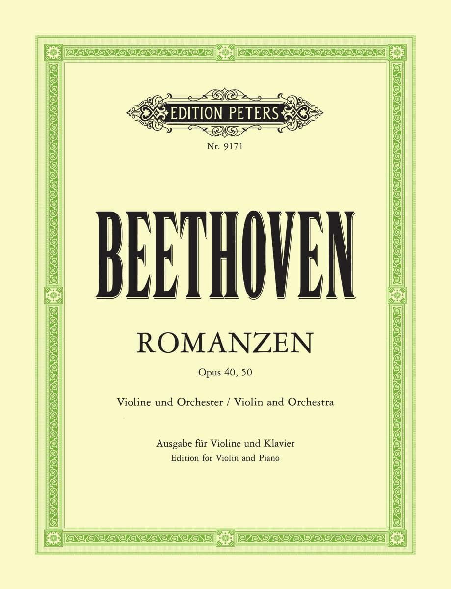 BEETHOVEN - Romanzen op. 40 G-Dur, op. 50 F-Dur - Violine - Partition - di-arezzo.co.uk