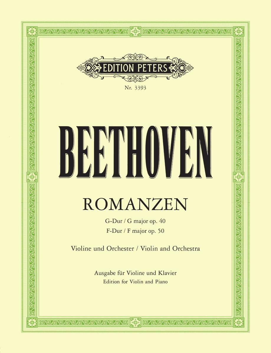 Romanzen - Violine Flesch - BEETHOVEN - Partition - laflutedepan.com