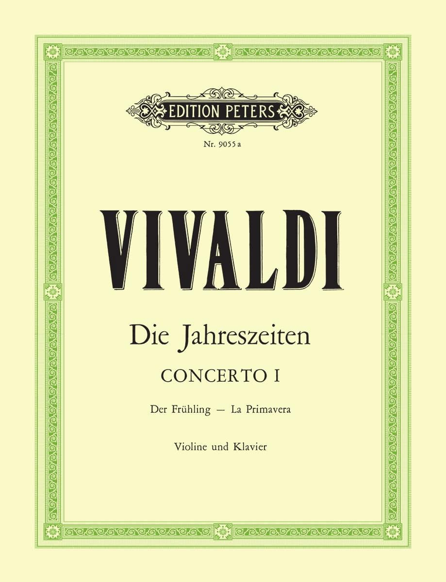 VIVALDI - Concerto La Primavera op. 8 n ° 1 - Partition - di-arezzo.co.uk