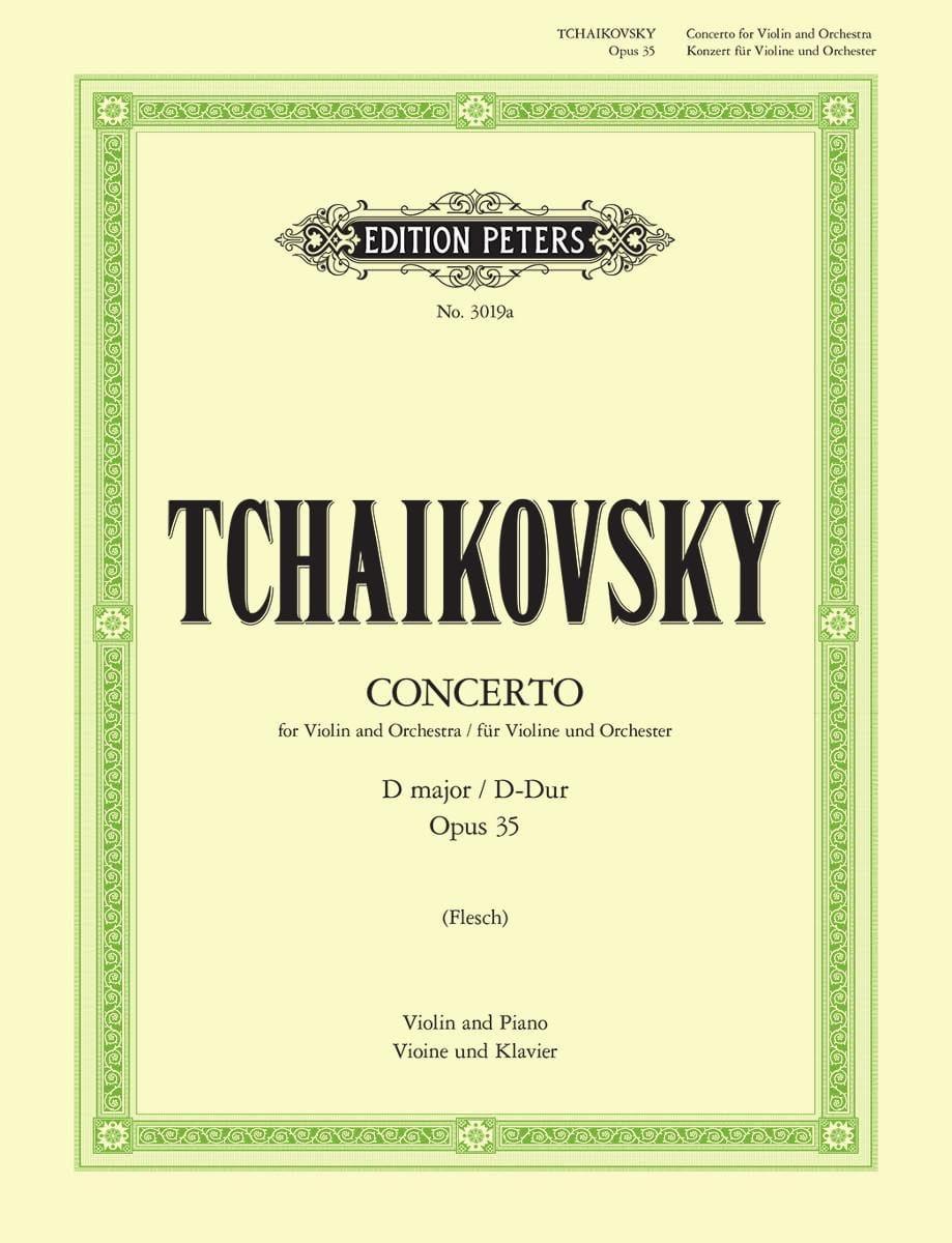 TCHAIKOVSKY - Violin Concerto D major op. 35 Flesch - Partition - di-arezzo.com
