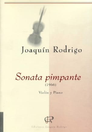 Sonate Pimpante - RODRIGO - Partition - Violon - laflutedepan.com