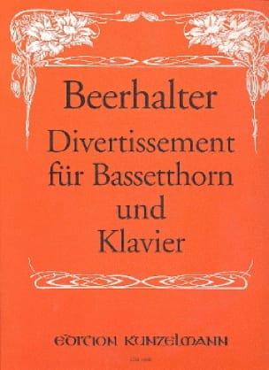 Divertissement für Bassetthorn und Klavier - laflutedepan.com
