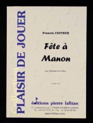 Fête à Manon - Francis Coiteux - Partition - laflutedepan.com