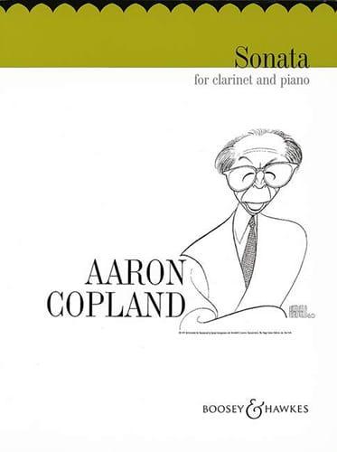 Aaron Copland - Sonata - Piano Clarinetto - Partition - di-arezzo.it