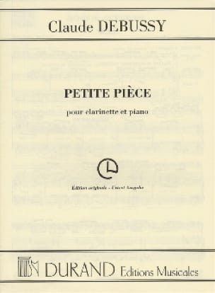 DEBUSSY - Little piece - Partition - di-arezzo.co.uk