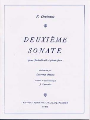 François Devienne - 2nd Sonata - Clarinet and Piano - Partition - di-arezzo.co.uk