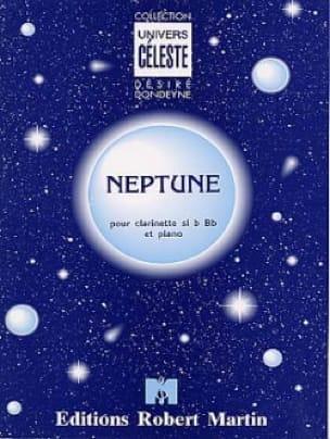 Neptune - Désiré Dondeyne - Partition - Clarinette - laflutedepan.com