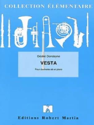 Vesta - Désiré Dondeyne - Partition - Clarinette - laflutedepan.com