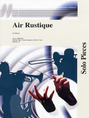 Air rustique - Maurice Faillenot - Partition - laflutedepan.com