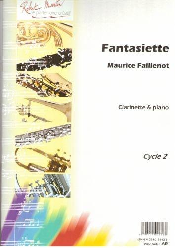 Fantasiette - Maurice Faillenot - Partition - laflutedepan.com