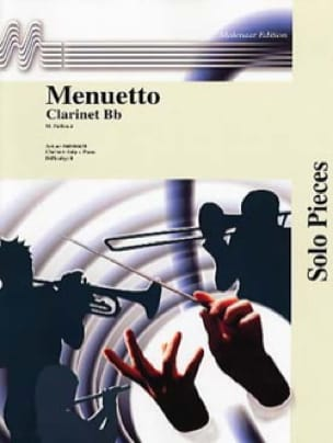 Menuetto - Maurice Faillenot - Partition - laflutedepan.com