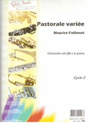 Maurice Faillenot - Various pastoral - Partition - di-arezzo.com