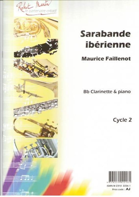 Maurice Faillenot - Iberian Sarabande - Partition - di-arezzo.co.uk