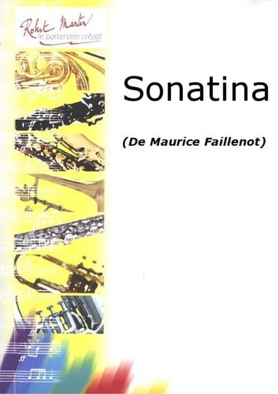 Maurice Faillenot - Sonatina - Partition - di-arezzo.co.uk