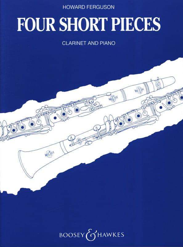 4 Short pieces - Clarinet and piano - laflutedepan.com