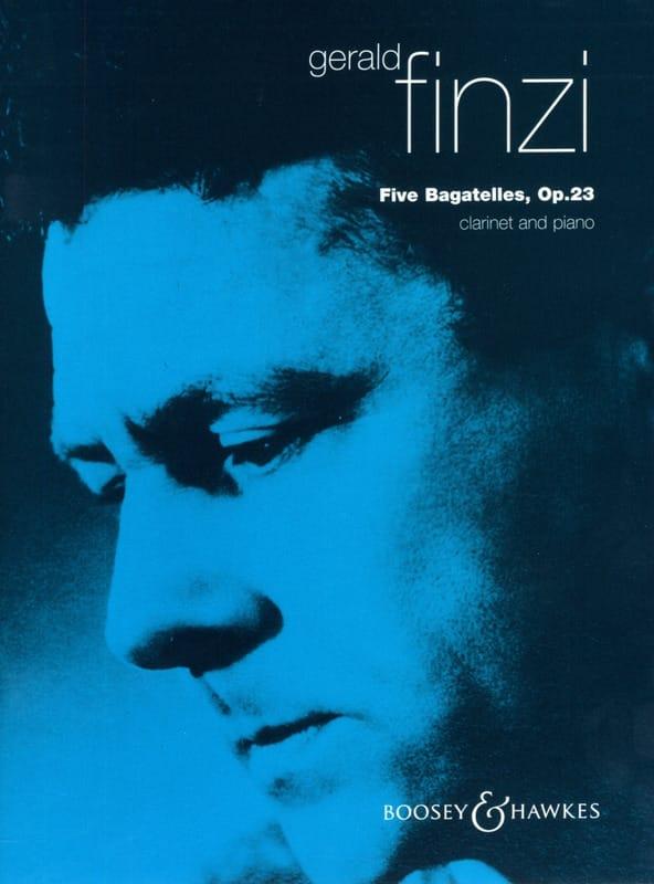 Gerald Finzi - 5 Bagatelles op. 23 - Partition - di-arezzo.fr