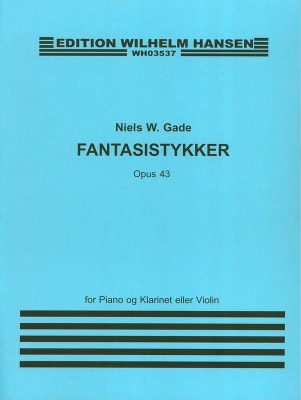 Fantasistykker op. 43 - Niels Wilhelm Gade - laflutedepan.com