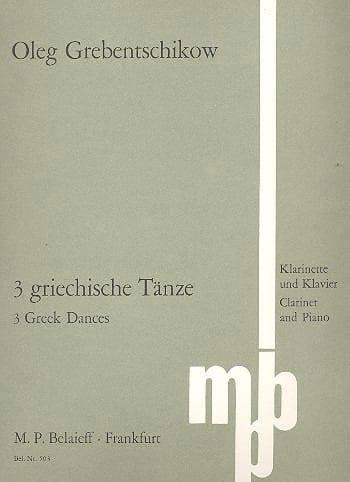 3 Grieschische Tänze - Oleg Grebentschikow - laflutedepan.com