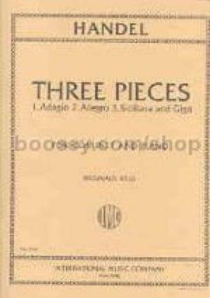 HAENDEL - 3 Pieces - transcr. clarinet - Partition - di-arezzo.com
