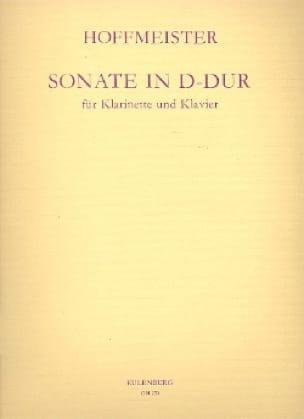 Franz Anton Hoffmeister - Sonata D-Dur - Klarinette Klavier - Partition - di-arezzo.co.uk