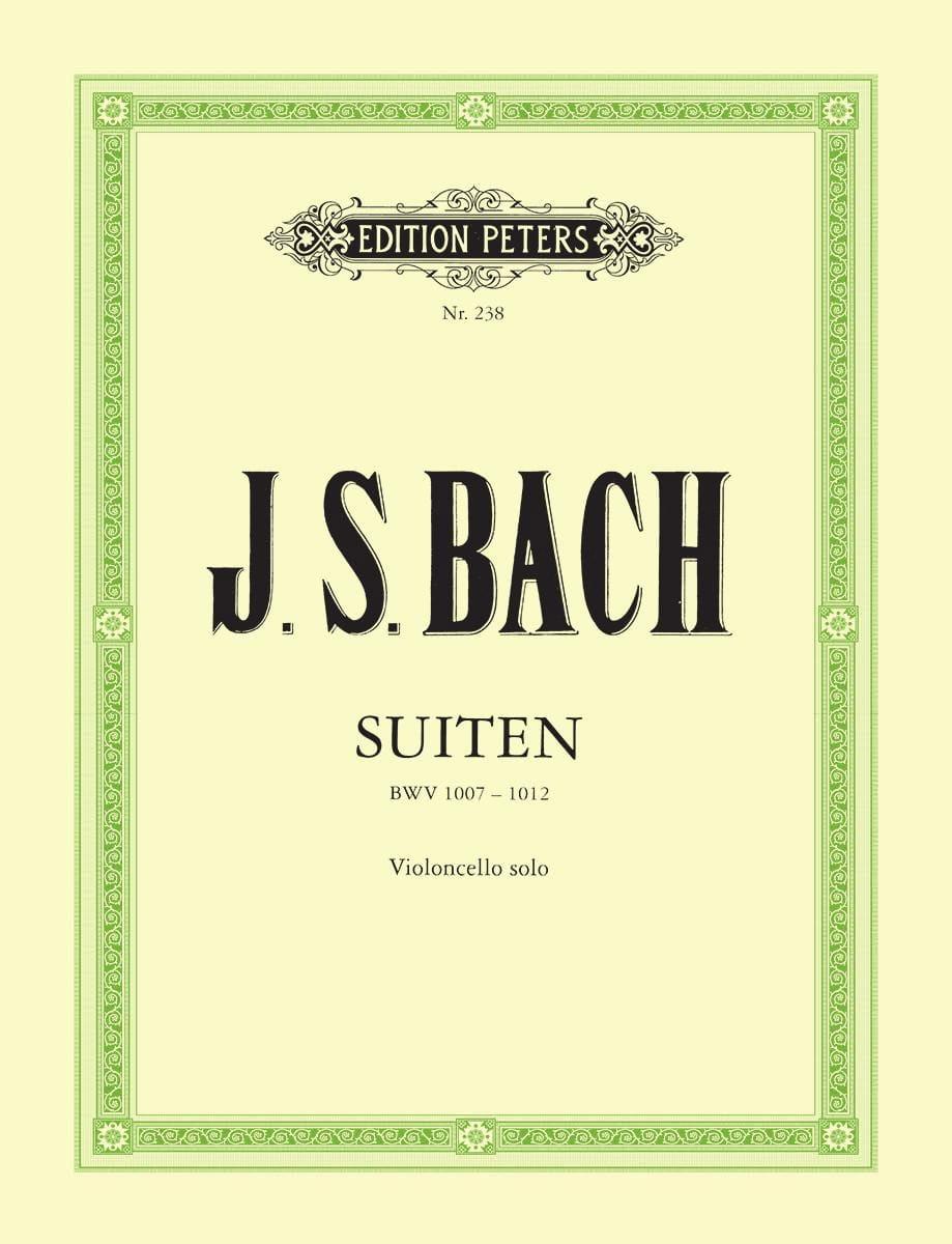 Suiten BWV 1007-1012 Becker - BACH - Partition - laflutedepan.com